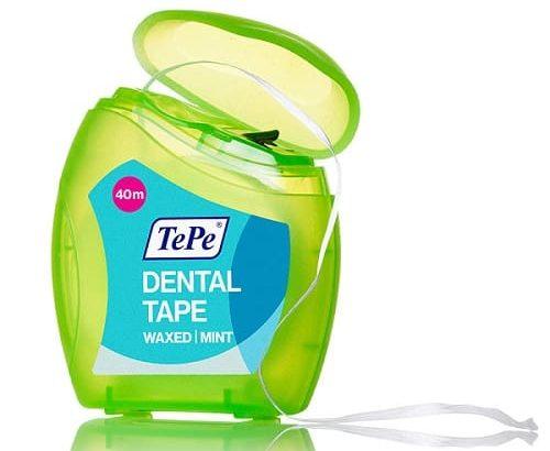 پاک سازی فضاهای بین دندانی